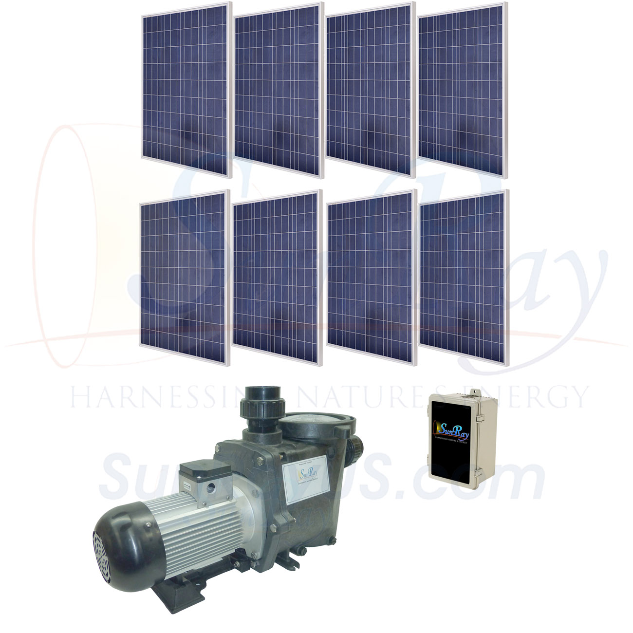 SunRay Solar Pool Pumps - Solar Powered Pool Pumps - Residential